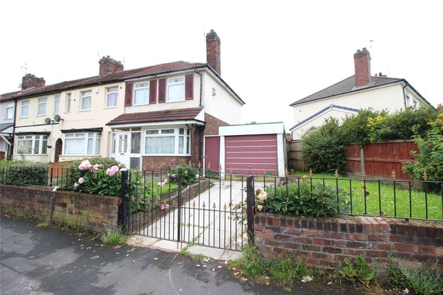 Thumbnail End terrace house for sale in Pine Close, Huyton, Liverpool, Merseyside