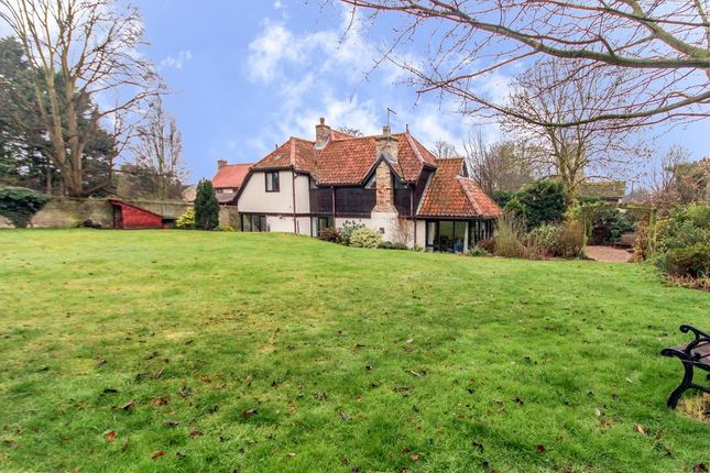 Thumbnail Detached house for sale in Church Street, Exning, Newmarket