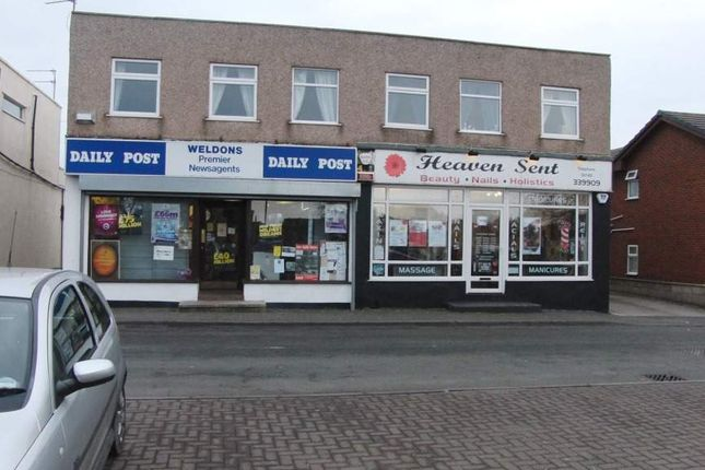 Thumbnail Retail premises for sale in Foryd Road, Kinmel Bay, Rhyl