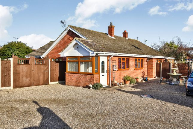 Thumbnail Detached bungalow for sale in Station Road, Lingwood, Norwich