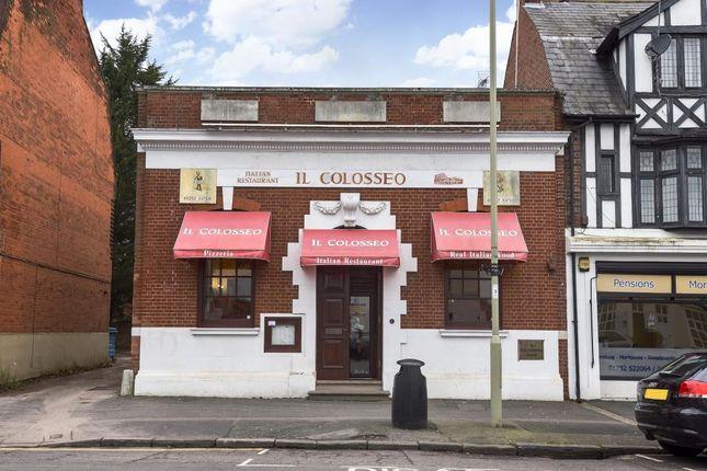 Thumbnail Restaurant/cafe for sale in Alexandra Road, Farnborough