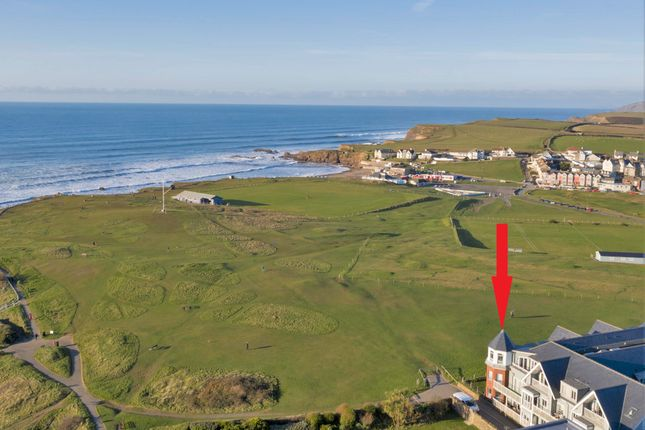 Thumbnail Flat for sale in Crooklets Road, Bude, Cornwall