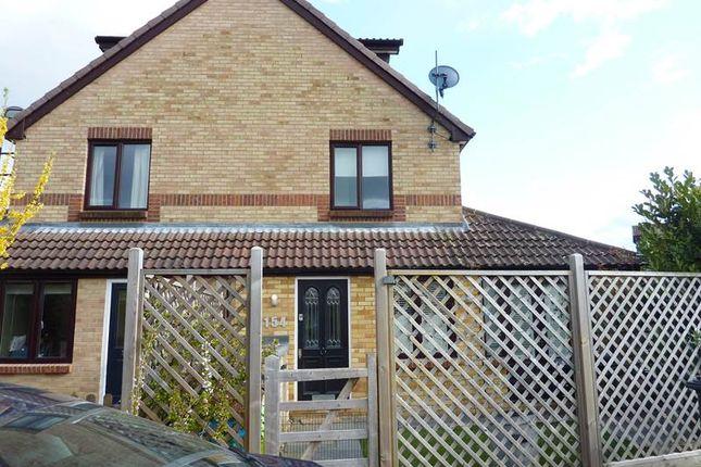 Thumbnail End terrace house to rent in Maypole Road, Burnham, Slough