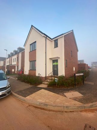 3 bed detached house to rent in 89 Hutchings Drive, Exeter EX1