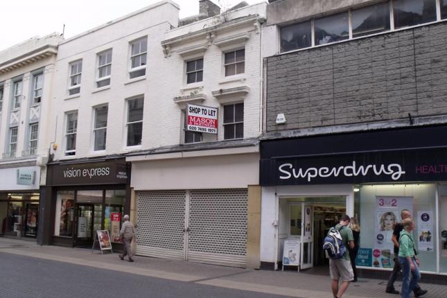 Thumbnail Retail premises to let in 32 Biggin Street, Dover, Kent