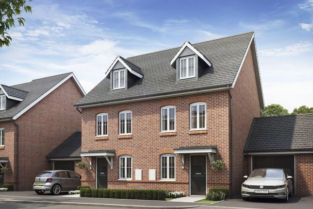 "Thumbnail Semi-detached house for sale in ""Rochester"" at Taylor Close, Harrietsham, Maidstone"
