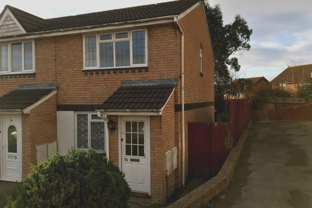 Thumbnail End terrace house for sale in Brookfield Avenue, Barry