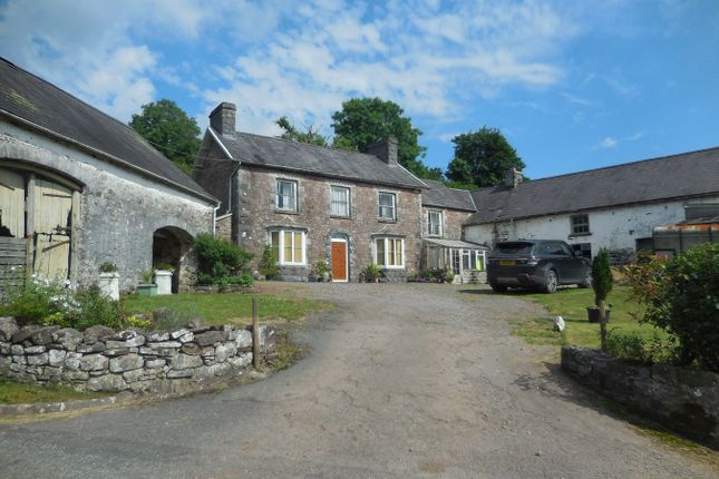 Thumbnail Farm for sale in Llandyfan, Ammanford