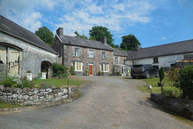 Thumbnail Farm for sale in Llandyfan, Ammanford