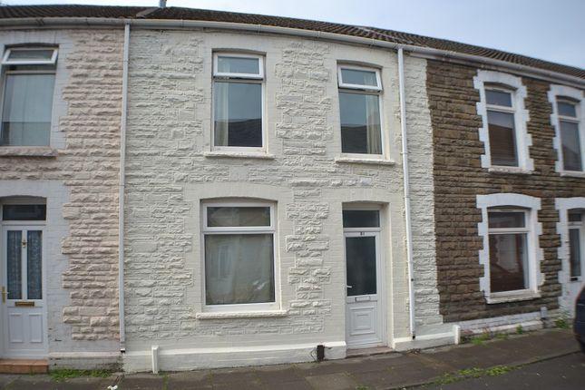 Thumbnail Terraced house for sale in Leslie Street, Port Talbot, Neath Port Talbot.