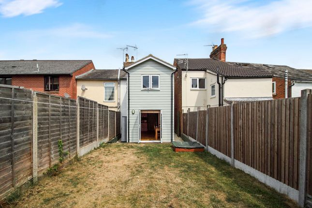 Thumbnail End terrace house for sale in Winnock Road, Colchester