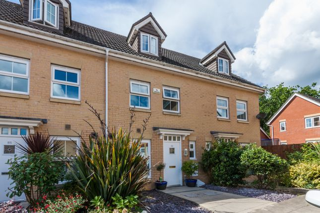 Thumbnail Town house for sale in Willowbrook Gardens, St. Mellons, Cardiff
