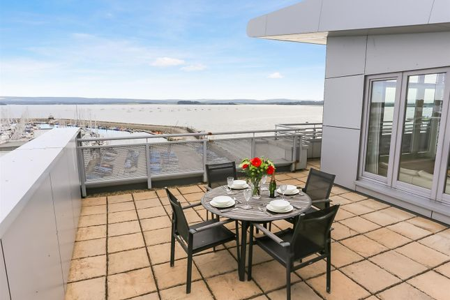 Thumbnail Flat for sale in Guillemot House, Penthouse, 17 Norton Way, Poole