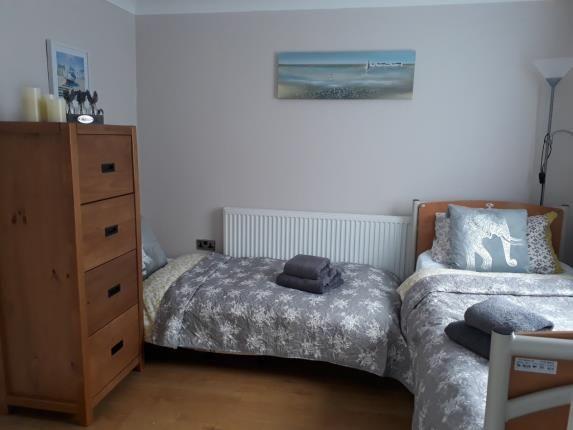 Bedroom of Glan Gwna Holiday Park, Caeathro, Caernarfon, Gwynedd LL55