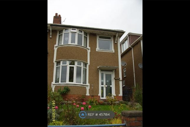 Thumbnail Semi-detached house to rent in Pengam Road, Ystrad Mynach, Hengoed