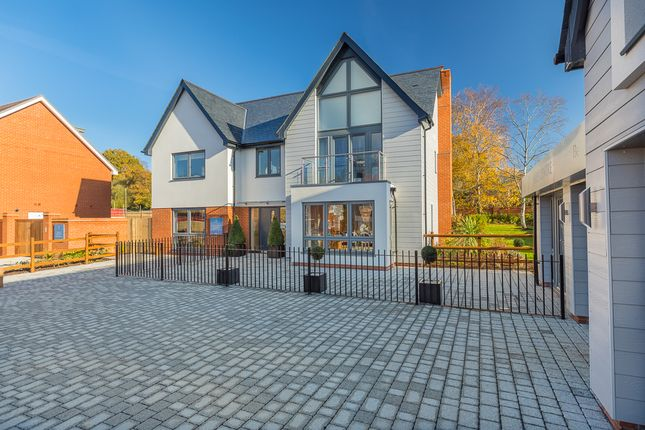 Thumbnail Detached house for sale in Cupernham Lane, Romsey Hampshire