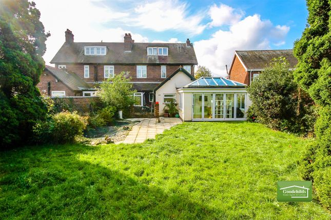 Thumbnail Semi-detached house for sale in Leighswood Road, Aldridge, Walsall