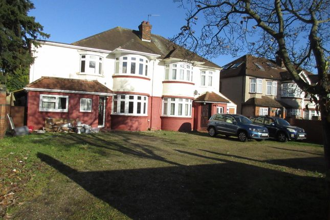Thumbnail Semi-detached house to rent in Great West Road, Isleworth, Middlesex