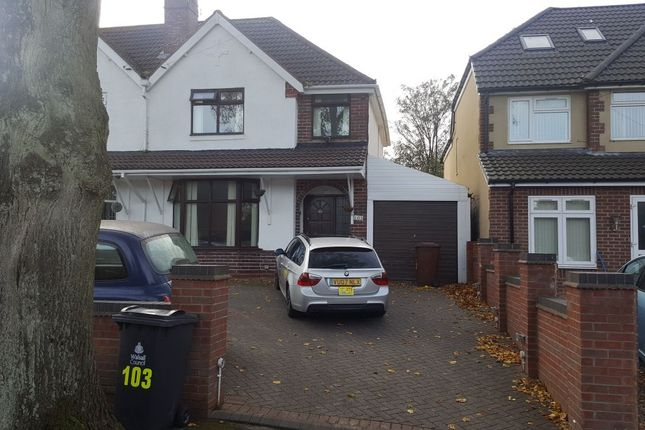 Thumbnail Studio to rent in Princess Avenue, Walsall, West Midlands