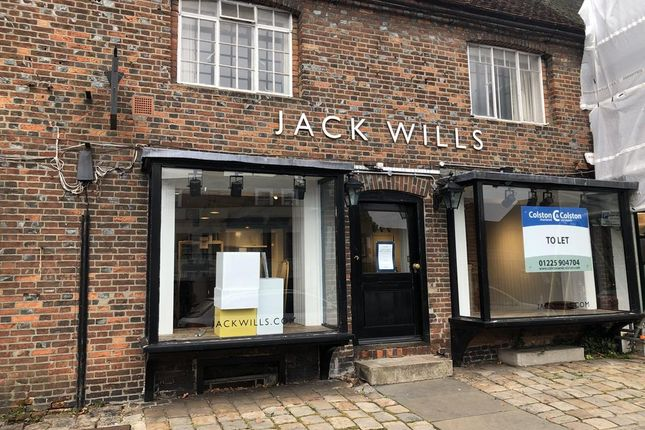 Thumbnail Retail premises to let in 97 High Street, Marlborough, Wiltshire