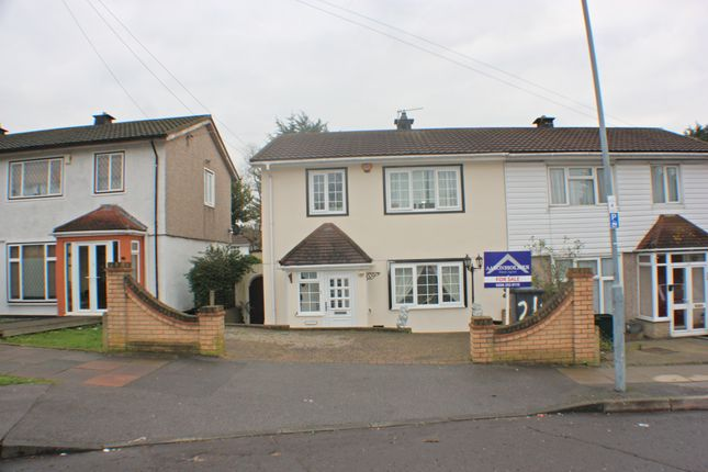 Thumbnail Semi-detached house for sale in Harbourer Road, Chigwell