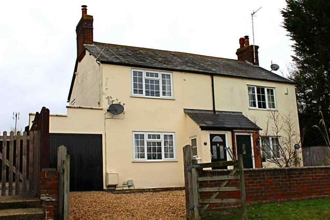 Thumbnail Semi-detached house for sale in Baydon Road, Lambourn, Hungerford