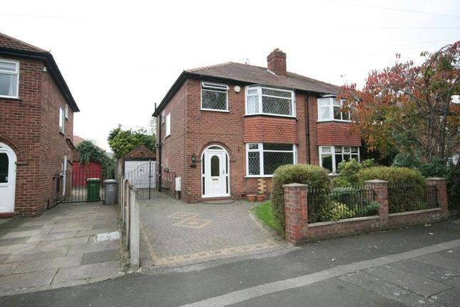 Thumbnail Semi-detached house to rent in Brook Lane, Timperley, Altrincham