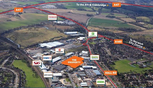Thumbnail Light industrial to let in Units 16-18 White Lodge Trading Estate, Hall Road, Norwich, Norfolk