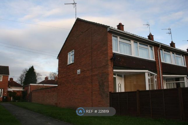 Thumbnail End terrace house to rent in Percy Road, Warwick