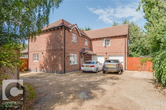 Thumbnail Detached house for sale in Neston Road, Ness, Neston, Cheshire