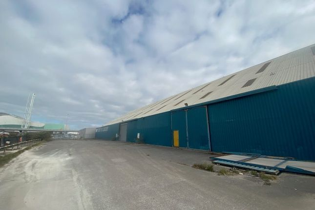 Thumbnail Industrial to let in E Shed, Old Clipper Road, Port Of Cardiff