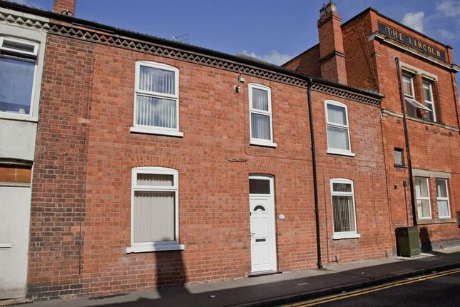 Thumbnail Terraced house to rent in Cross Street, Lincoln
