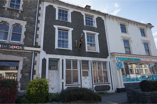 Thumbnail Terraced house for sale in High Street, Porthmadog