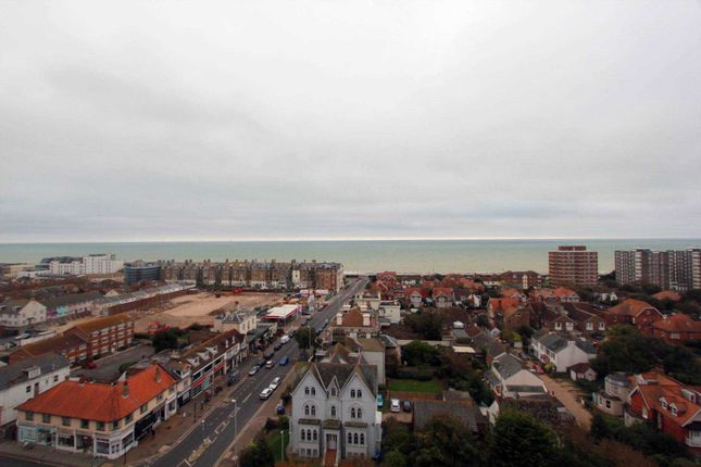 Thumbnail Penthouse for sale in Manor Lea, Boundary Road, Worthing