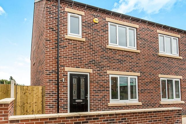 Thumbnail Semi-detached house for sale in Pilsley Road, Danesmoor, Chesterfield