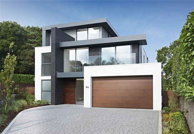Thumbnail Detached house for sale in 4 Mount Grace Drive, Evening Hill, Poole, Dorset