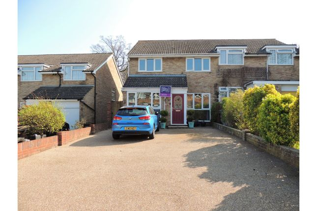 Thumbnail Semi-detached house for sale in Reedham Crescent, Rochester