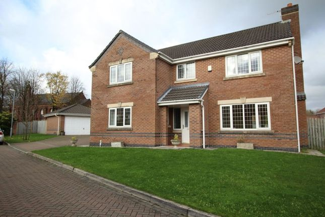 Thumbnail Detached house to rent in Castle Hey Close, Bury