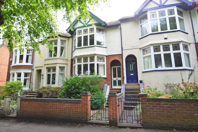 Thumbnail Terraced house for sale in Park Road, Rugby