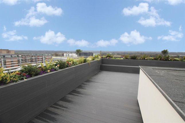 Roof Garden of Plot 29, Movia Apartments, Bakers Road, Uxbridge UB8