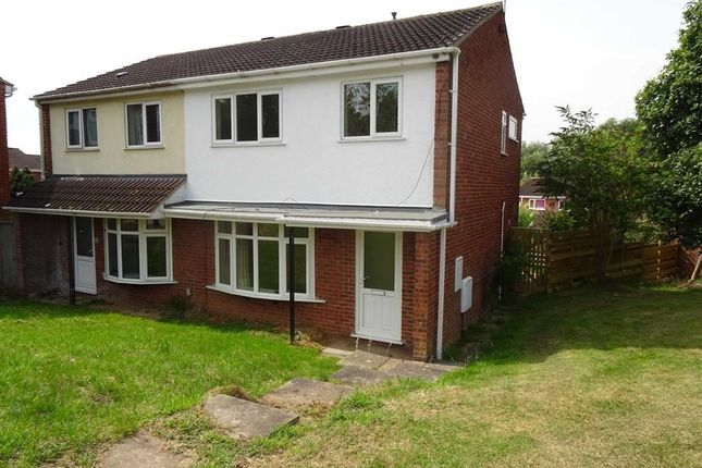 Thumbnail Semi-detached house for sale in Warner Close, Woodloes Park, Warwick