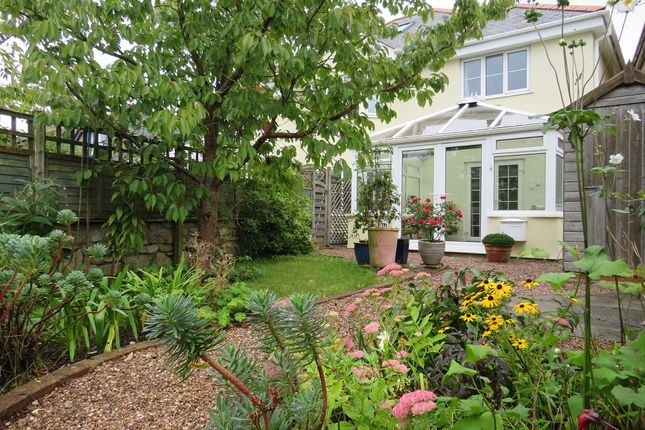 Thumbnail Semi-detached house for sale in Helston Road, Rosudgeon, Penzance, Cornwall.