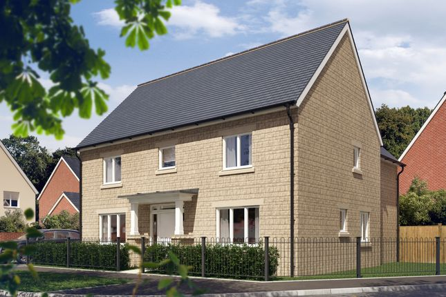 "Thumbnail Detached house for sale in ""The Witcombe"" at Vale Road, Bishops Cleeve, Cheltenham"