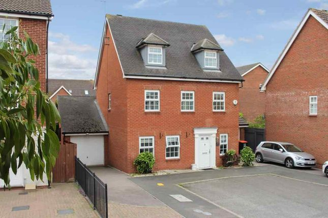Thumbnail Detached house for sale in Palmer Crescent, Leighton Buzzard