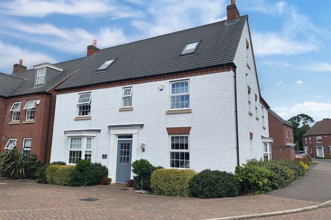 Thumbnail Detached house for sale in Netherhall Drive, Quorn, 8