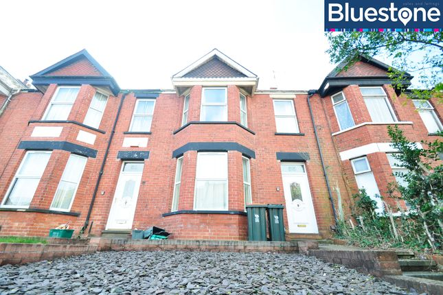 Thumbnail Terraced house to rent in Risca Road, Newport