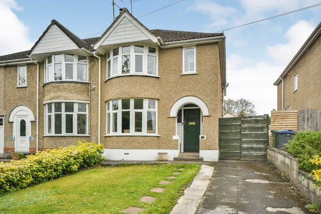 Thumbnail Semi-detached house for sale in Plantation Road, Chippenham