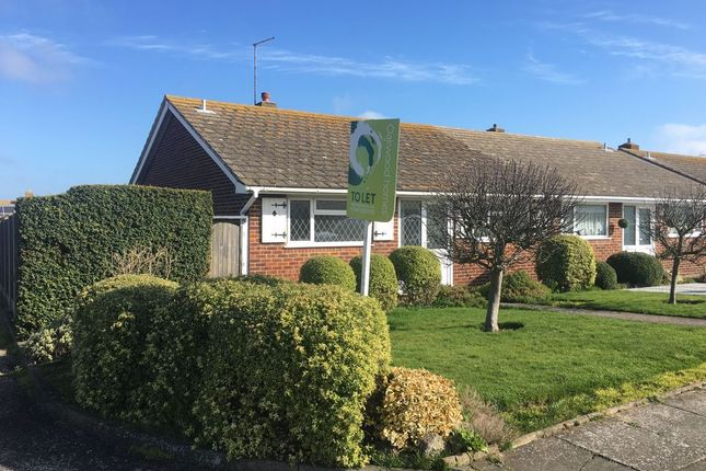 Thumbnail Semi-detached bungalow to rent in Turnden Gardens, Cliftonville, Margate