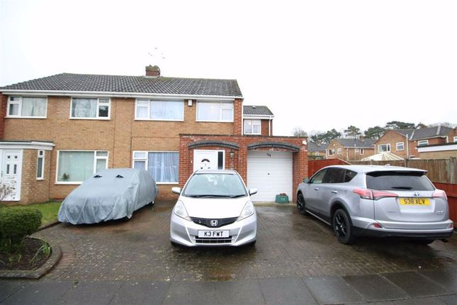 Thumbnail Semi-detached house for sale in Fulthorpe Avenue, Darlington, Co Durham