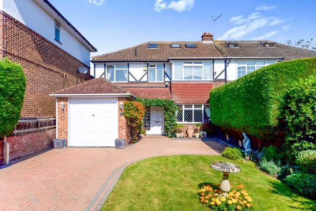 Thumbnail Semi-detached house for sale in Rosehill Close, Hoddesdon